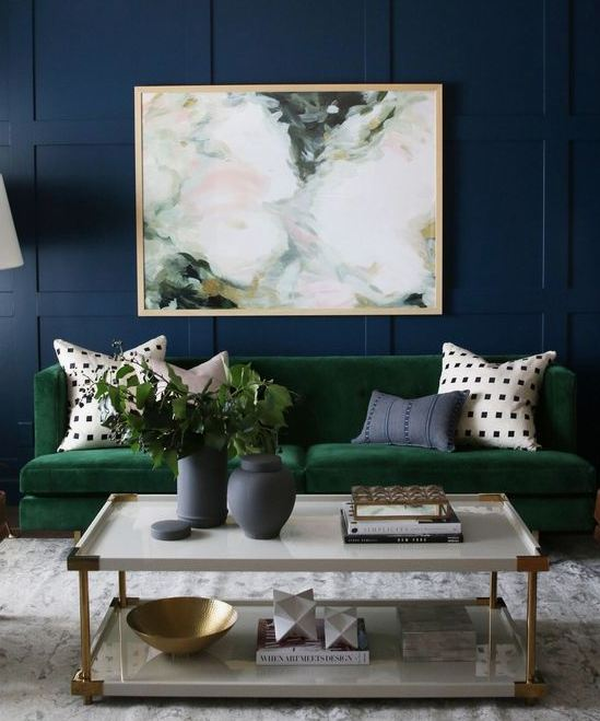 Interior Design Trends 2019 - Jewel Tones