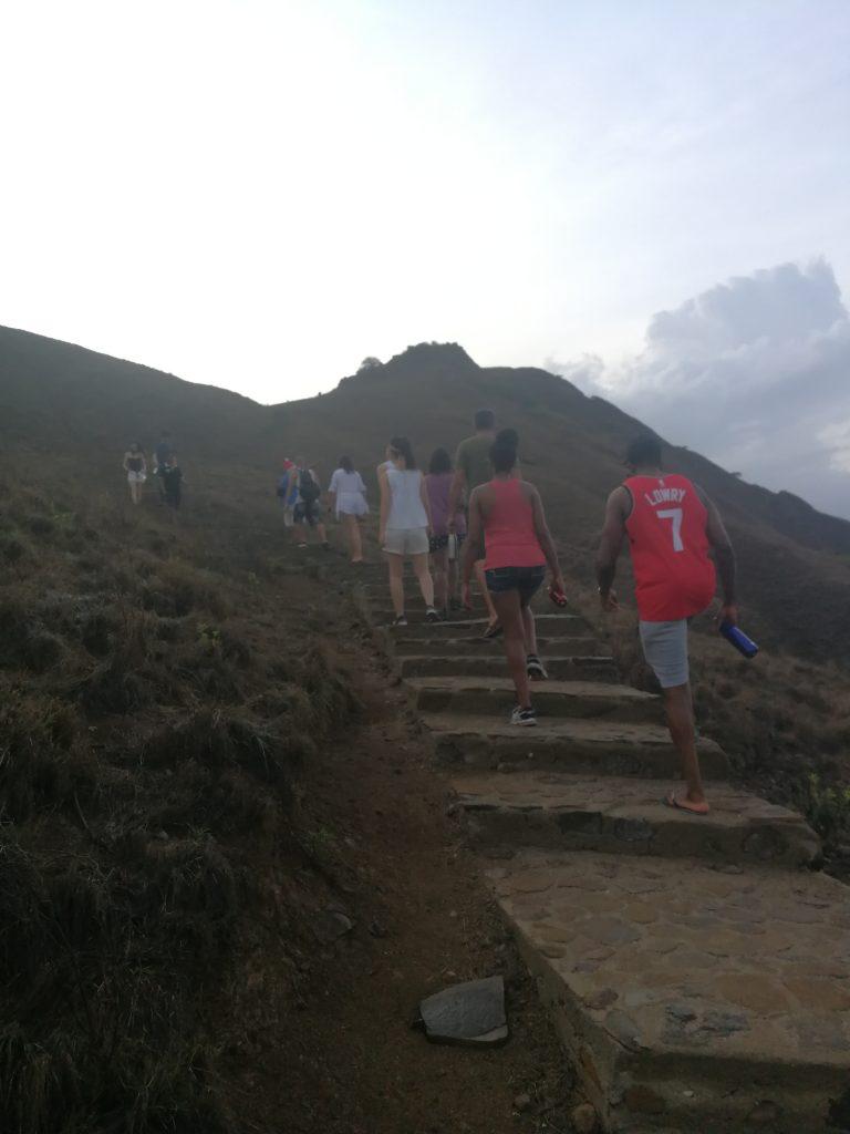 Hiking Kelor Island Indonesia
