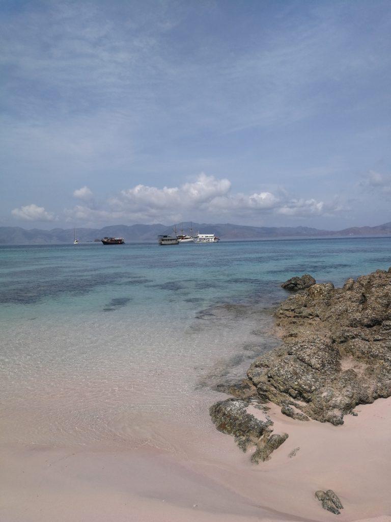Pink Beach Komodo Island Indonesia