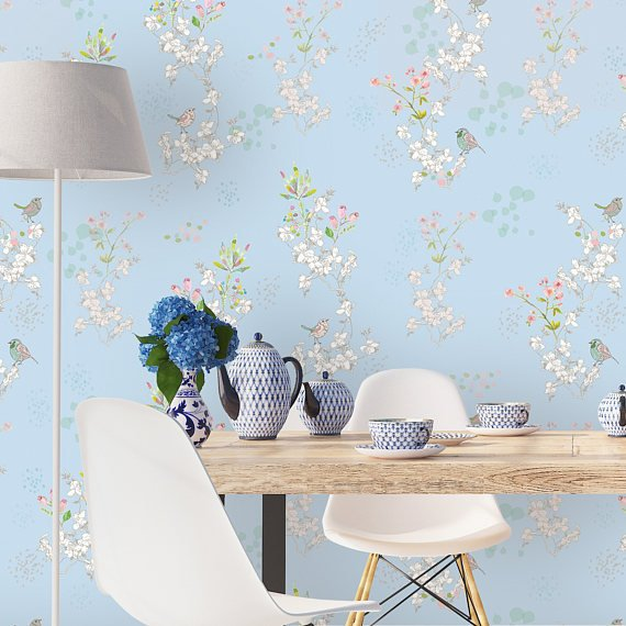 Etsy Gals Magic Closet -Top 15: Favourite Spring Wall Coverings