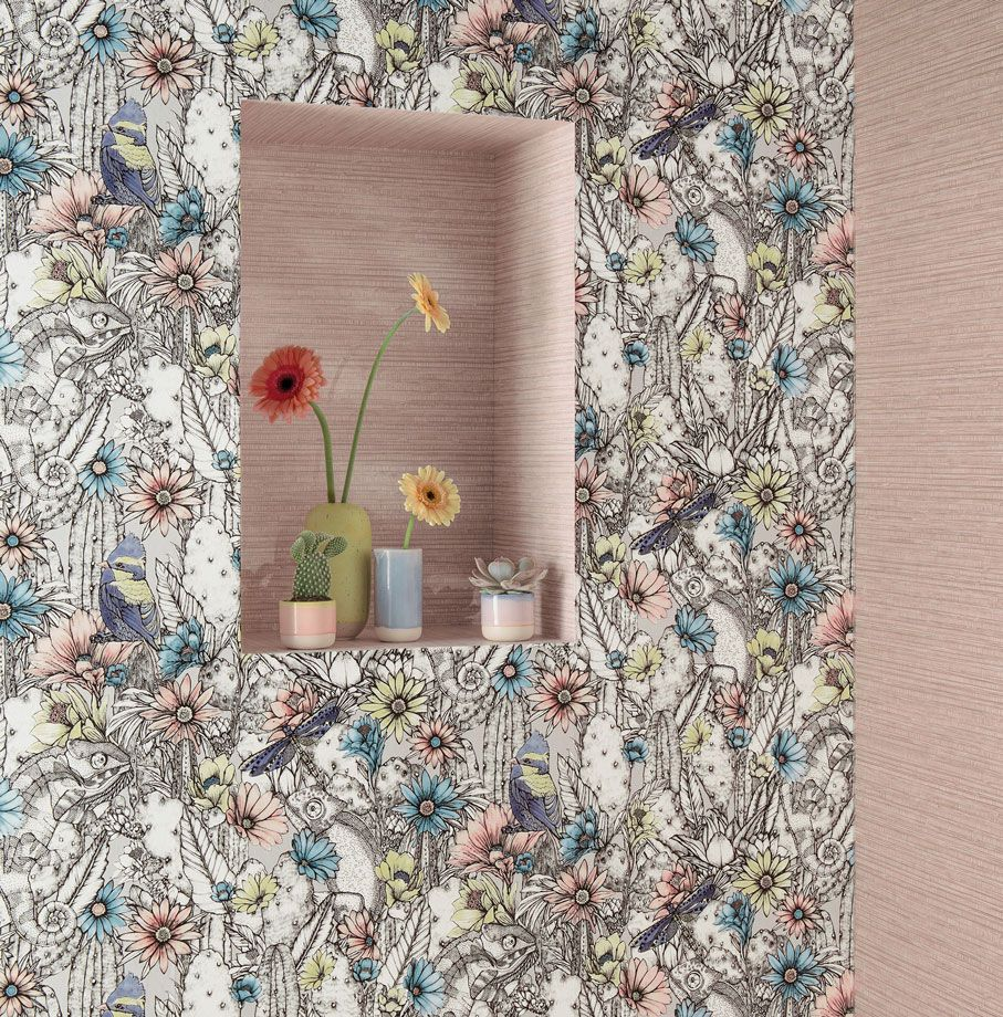 Osborne & Little Catcus Garden -Top 15: Favourite Spring Wall Coverings