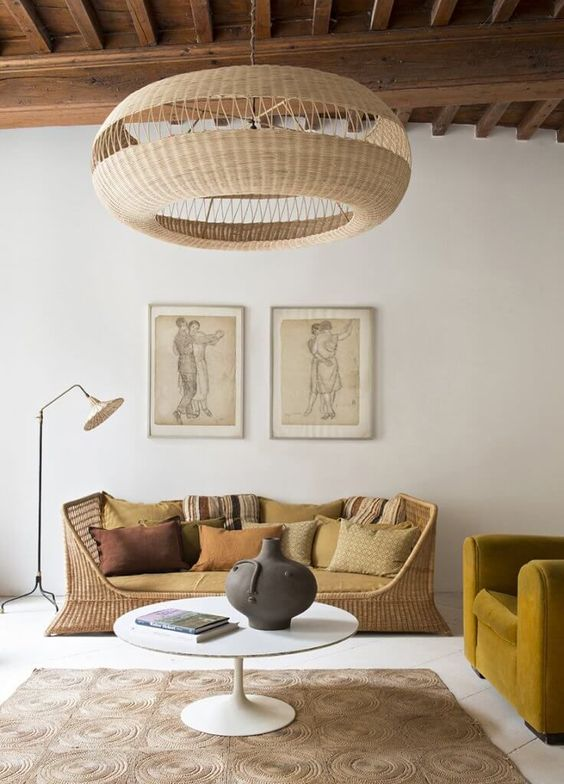Open Closed - Rattan Lighting For Spring