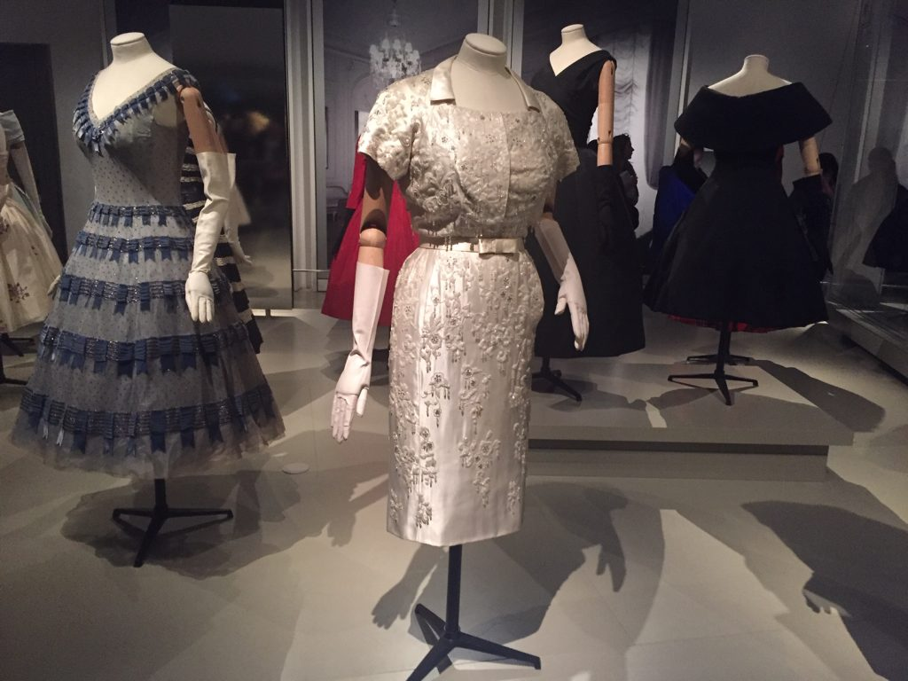 White Embellished Dress- Christian Dior From Toronto to London