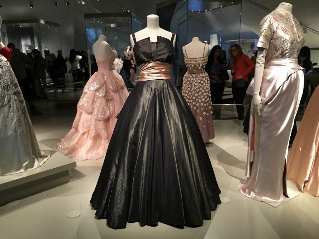 Black Gown - Christian Dior From Toronto to London