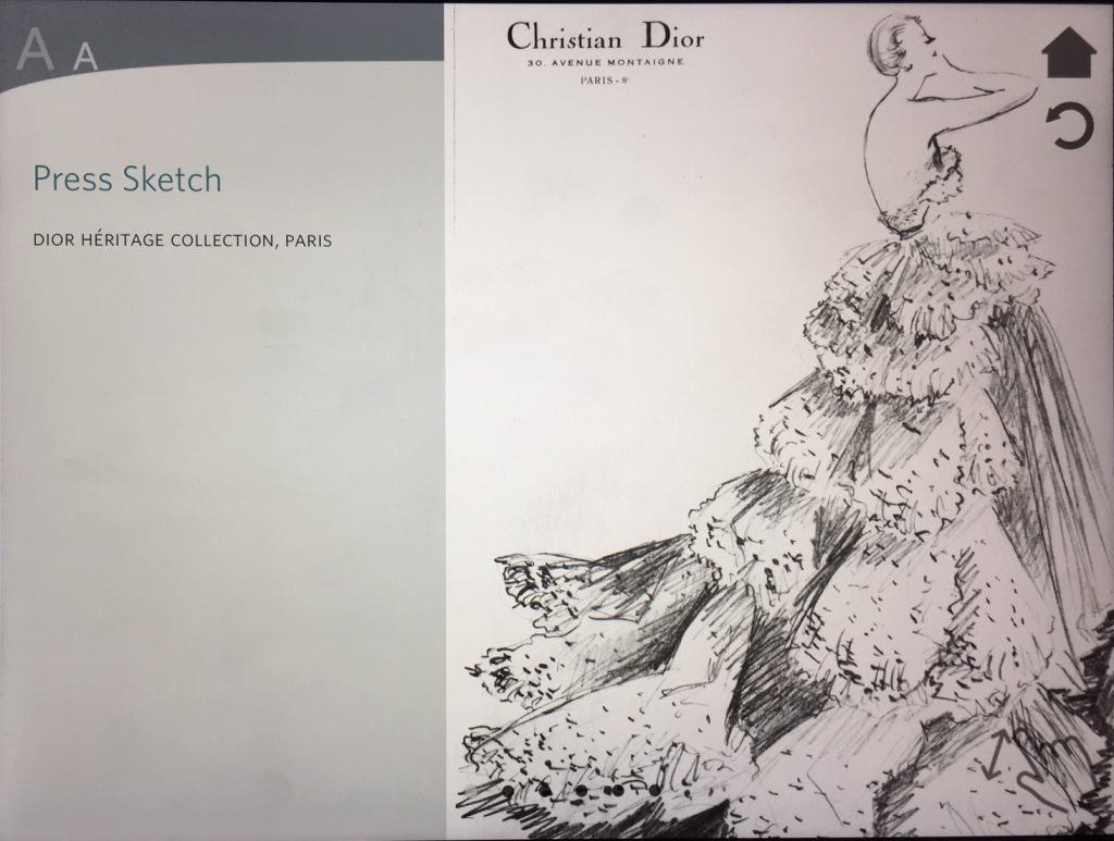 Dior Heritage Sketch - Christian Dior From Toronto to London