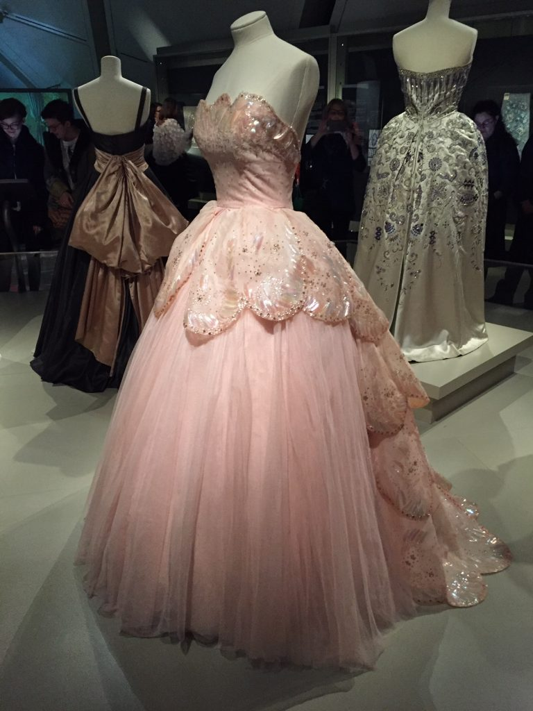 Pink Couture Gown - Christian Dior From Toronto to London