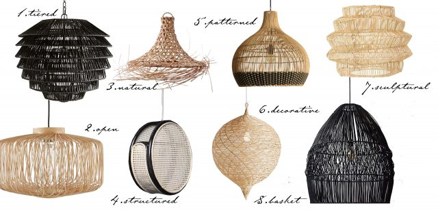8 Rattan Styles For Lighting That Will Work For Your Home: Part 2