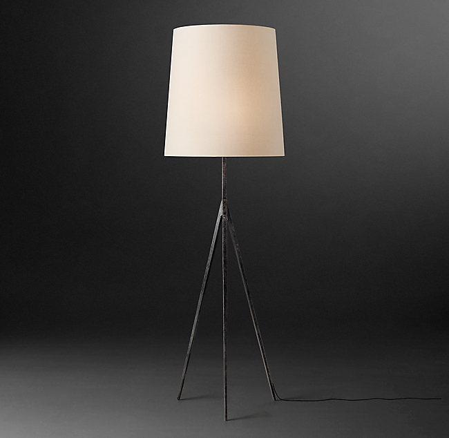 Kerry Washington: Home Style Essentials - RH Wright Tripod Floor Lamp