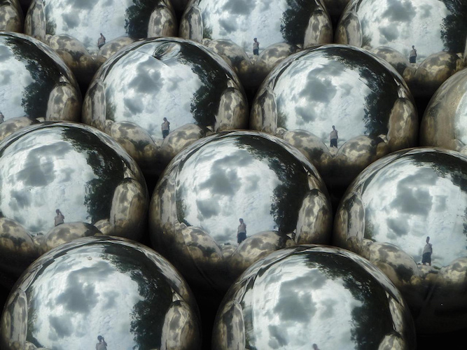 A Forever Infinity Room At the ROM - Mirrored Balls from Narcissus Garden 1966