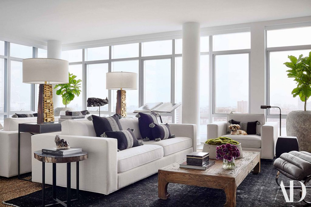 Kerry Washington NYC Apartment - Architectural Digest