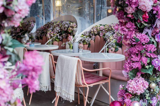 Flower Power at Elan Oxford Circus London