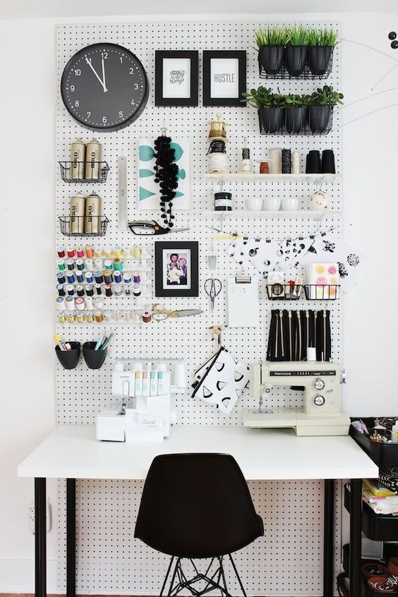 Making Spring Cleaning Look Good: Office Organisation - Fashion Designers Desk