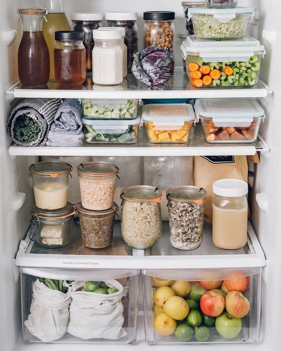 Kitchen Organisation + Freebie: Making Spring Cleaning Look Good - Fridge Organisation