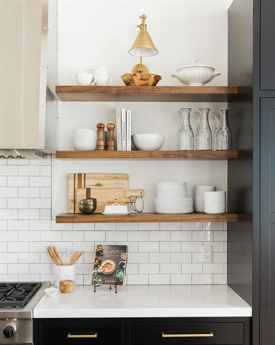 Kitchen Organisation + Freebie: Making Spring Cleaning Look Good - Beautiful and Tidy Kitchen