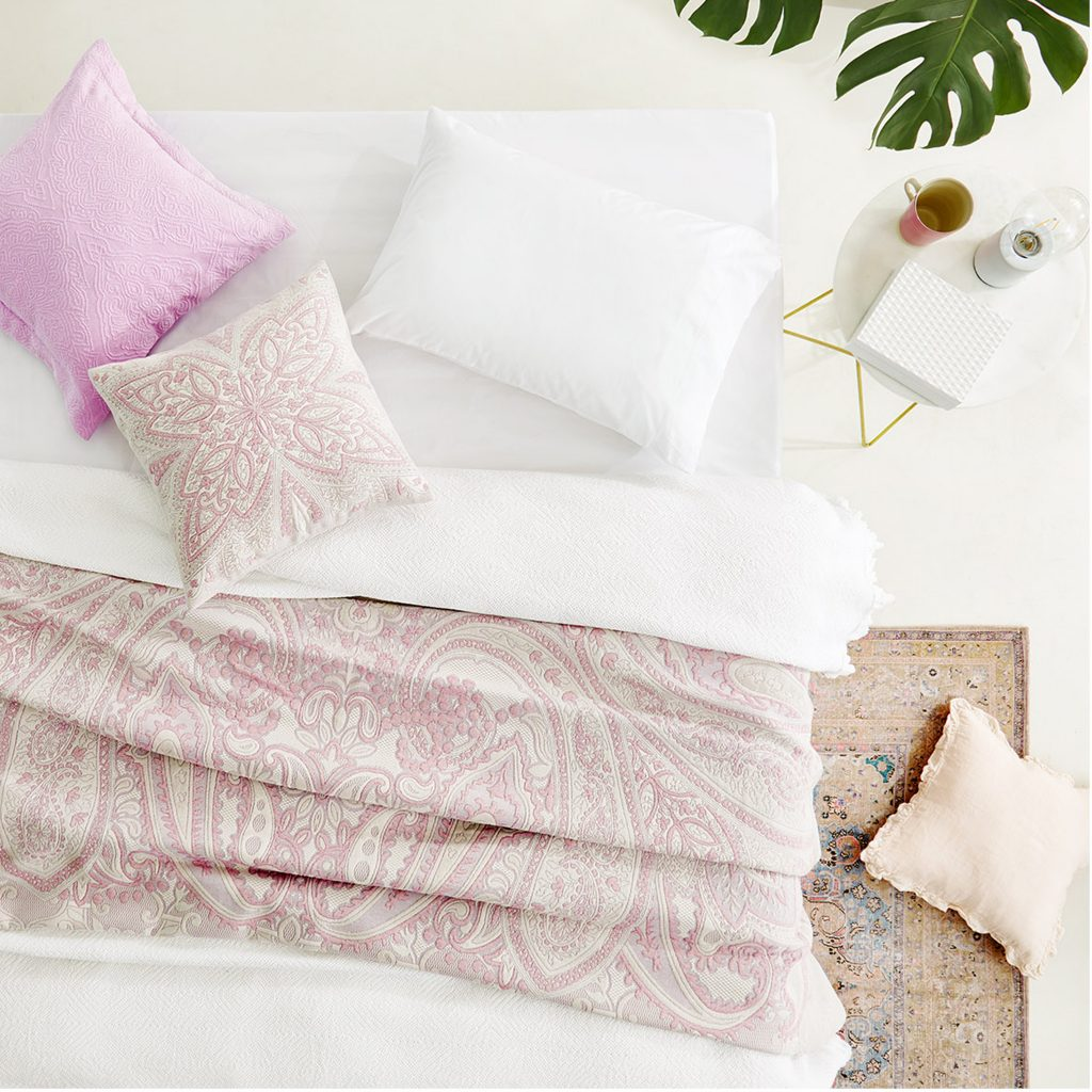 Making Spring Cleaning Look Good: The Bedroom - Zara Home Inspiration 2019 - Botanical