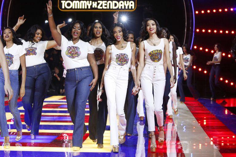 Zendaya's Zodiac Tees with Tommy Hilfiger - Runway Debut