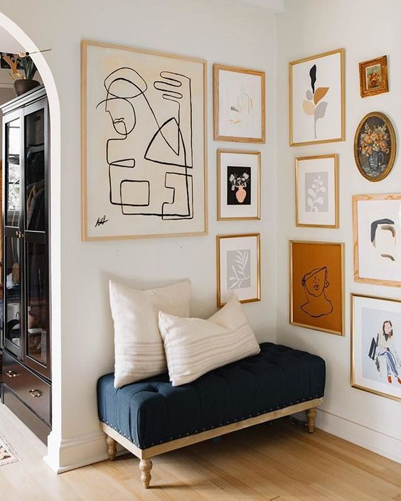 12 Ways To Display Your Gallery Wall