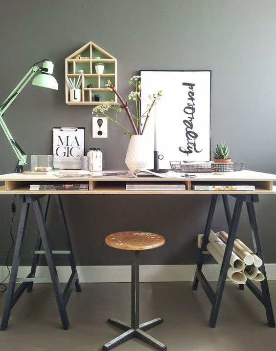 Making Spring Cleaning Look Good: Office Organisation - Designers Desk