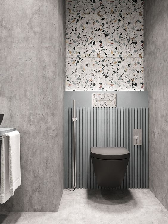 Terrazzo Still on Trend for 2019? - Neutral Bathroom