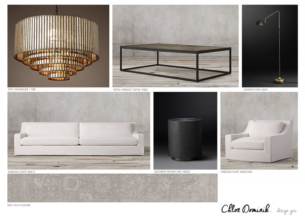 Parisian Style furniture pieces by Chloe Dominik Designs