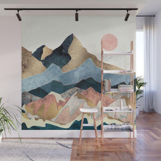Society 6 Interior Art Mural