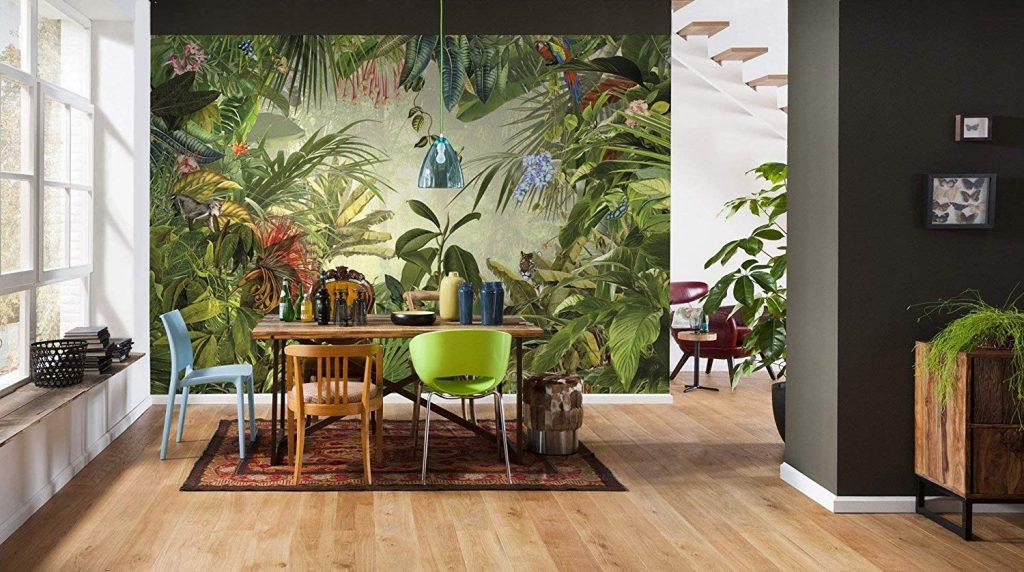 Wild Tropical Art Mural