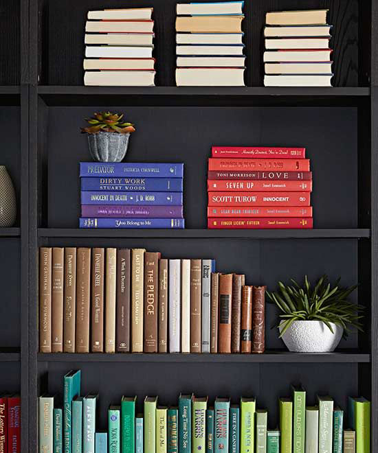10 Ways to Style & Organise Your Bookshelves
