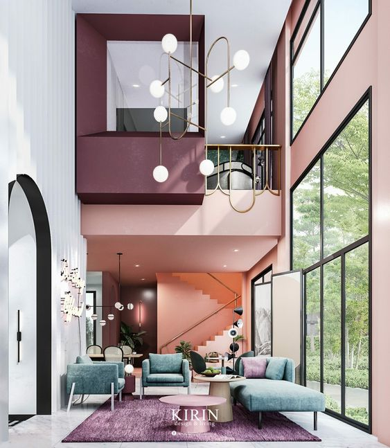 Modern Colour Interior Home