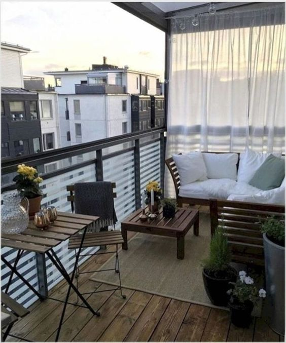 Outdoor Living Balcony