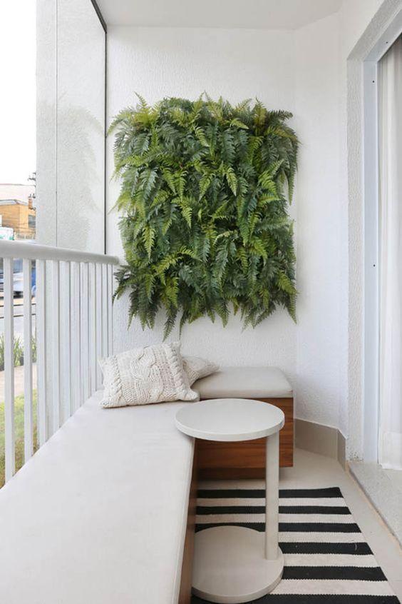 Outdoor Living Small White Balcony