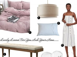 Shop: Lovely Linens – For You and Your Home