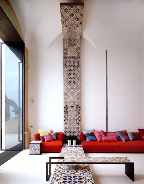Villa Positano Lazzarini Pickering Living Area