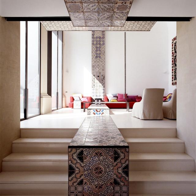 Lazzarini-Pickering-View-Upstairs-To_Livingroom