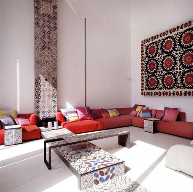 Villa Positano-Living-Area-Lazzarini-Pickering