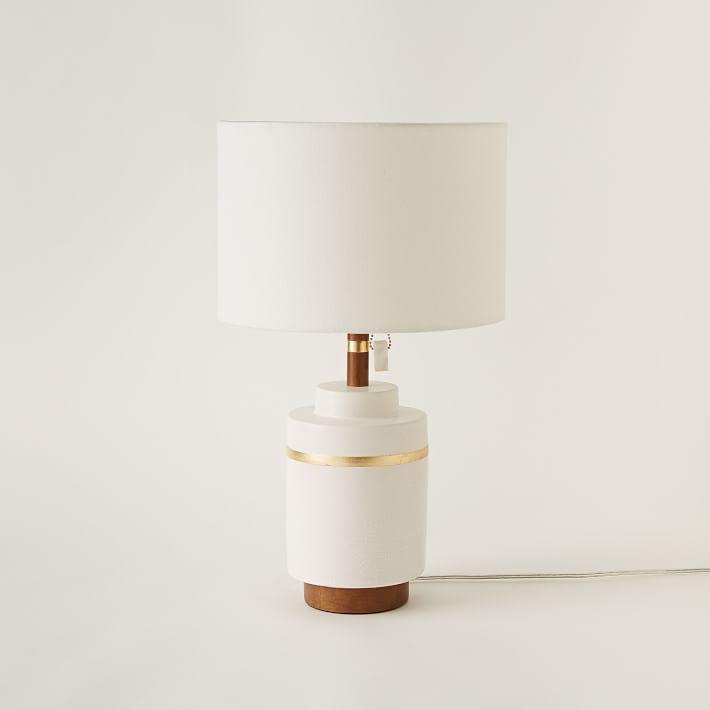Roar + Rabbit modern white lamp