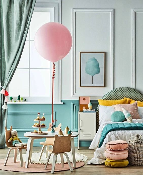 Colour Blocking For Your Interiors - Kids Room by Natalie Johnson