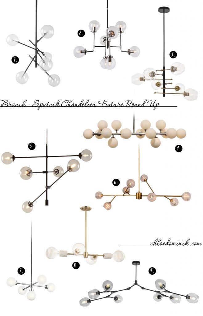 Branch Light Sputnik Fixture Round Up