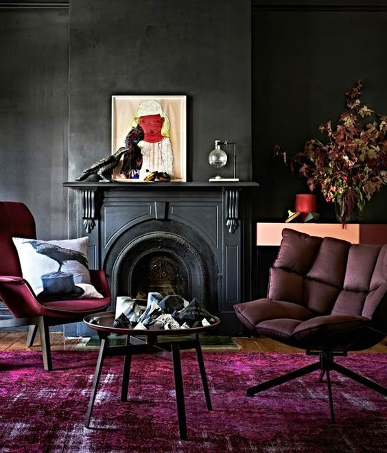 12 Moody Room Designs That You Will Love For The Winter Season