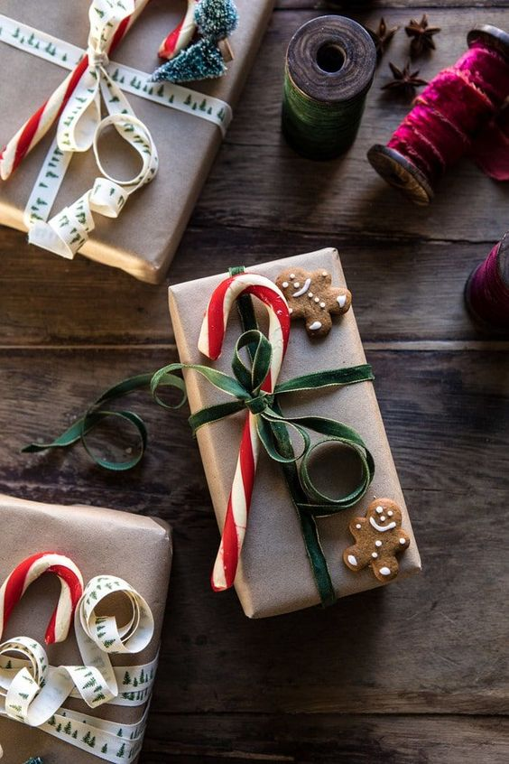 20 Creative Ways To Gift Wrap Your Presents This Christmas - Candy Cane