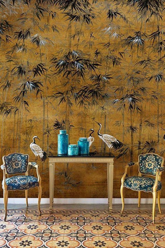 Botanical Wallpaper