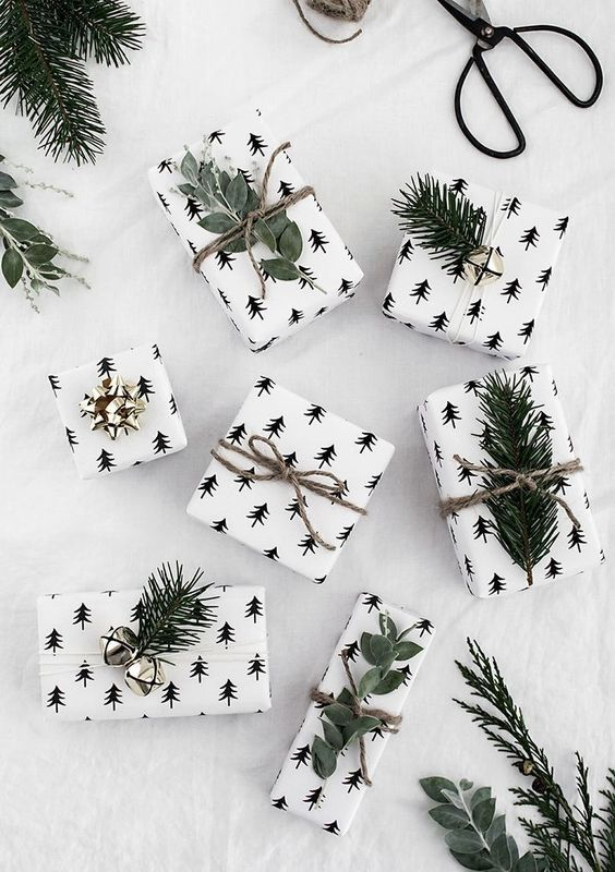 20 Creative Ways To Gift Wrap Your Presents This Christmas - Evergreen Sprigs