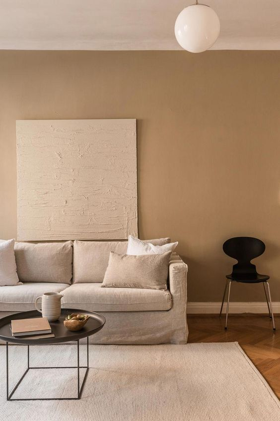 10 Interior 2020 Trends That Will Be Carrying On Next Year - Warm neutral Interior