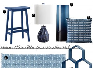 Classic Blue Pantone Colour for 2020: Best Home Decor Picks