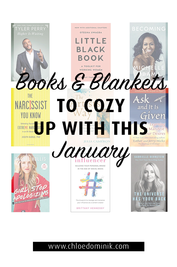 Books And Blankets To Cozy Up With This January