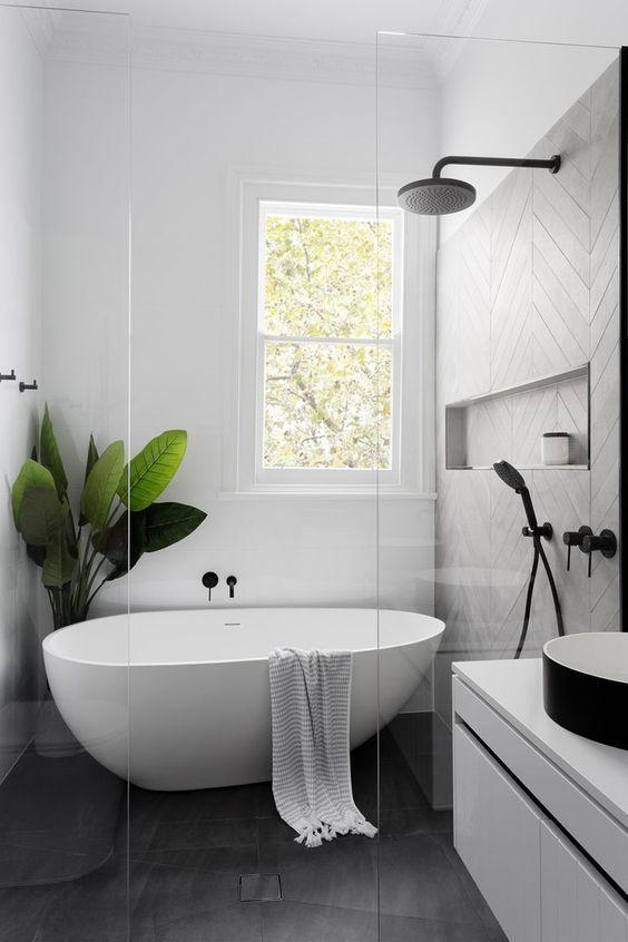 Amazing Wet Room Ideas: Top 12 - Small Modern Wet Room