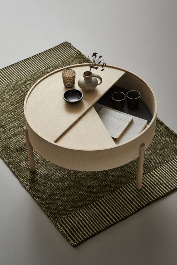January Pinterest: Top 15 For Ideas and Inspiration - Wooden Storage Coffee Table