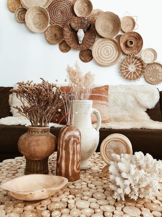 Biophilia Interior Design and How You Can Use It In Your Home - Natural Material Decor