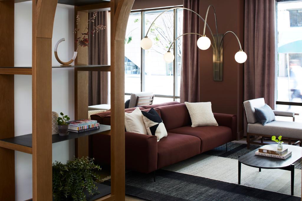 St. George hotel lounge area Toronto