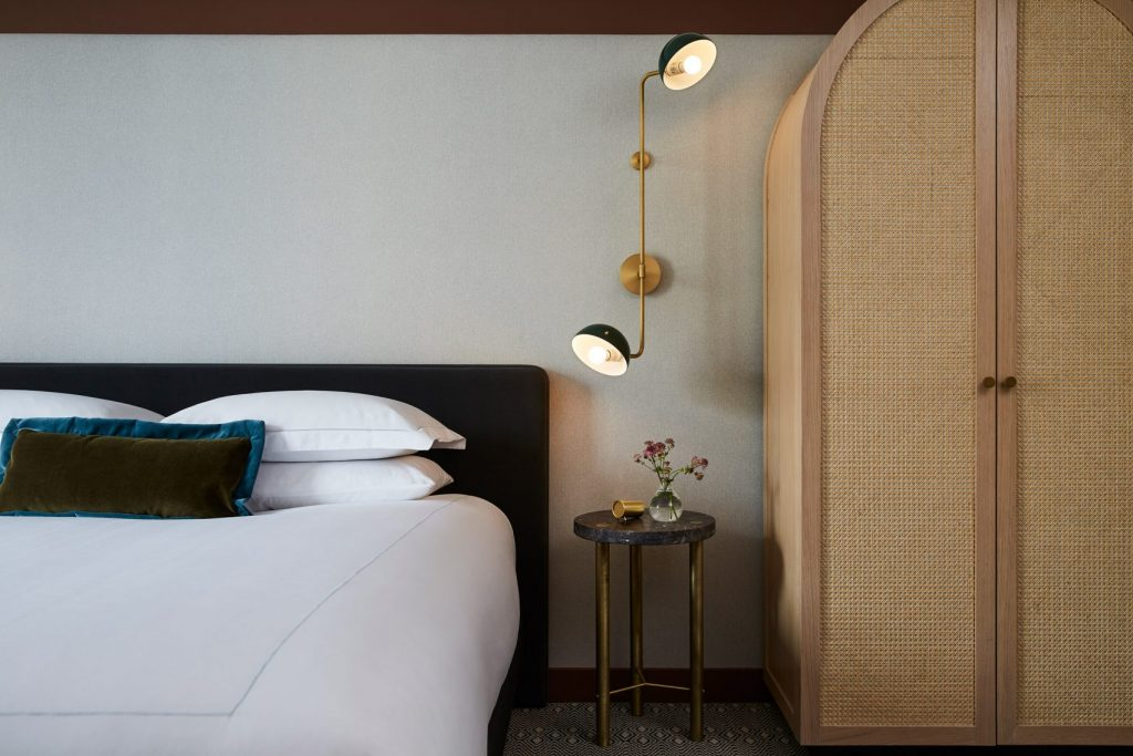 Kimpton hotel St. George bedroom
