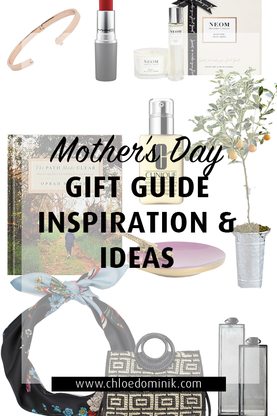 Mothers day gift guide for inspiration and ideas